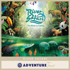 River Safari Singapore (Two Boat Rides)