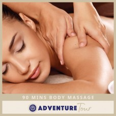 90 Minutes Body Massage (Body Massage + Body Scrub + Body Mask)